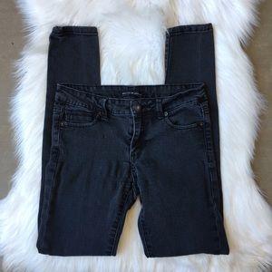 Brandy Melville Gray Black Stretch Skinny Jeans S